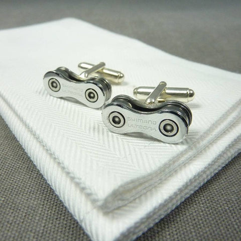 Shimano Ultegra Bicycle Chain Cufflinks - Gifts for Cyclists