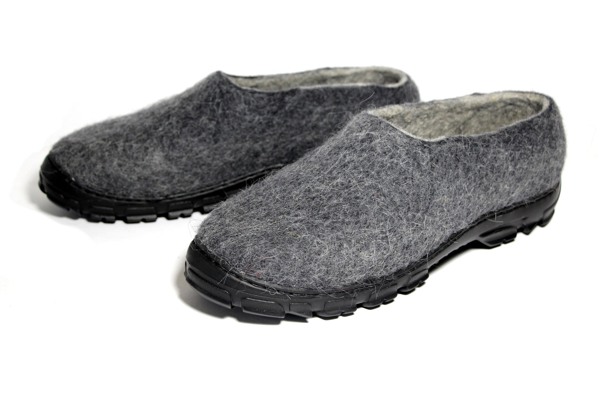Men's Wool Shoes Charcoal