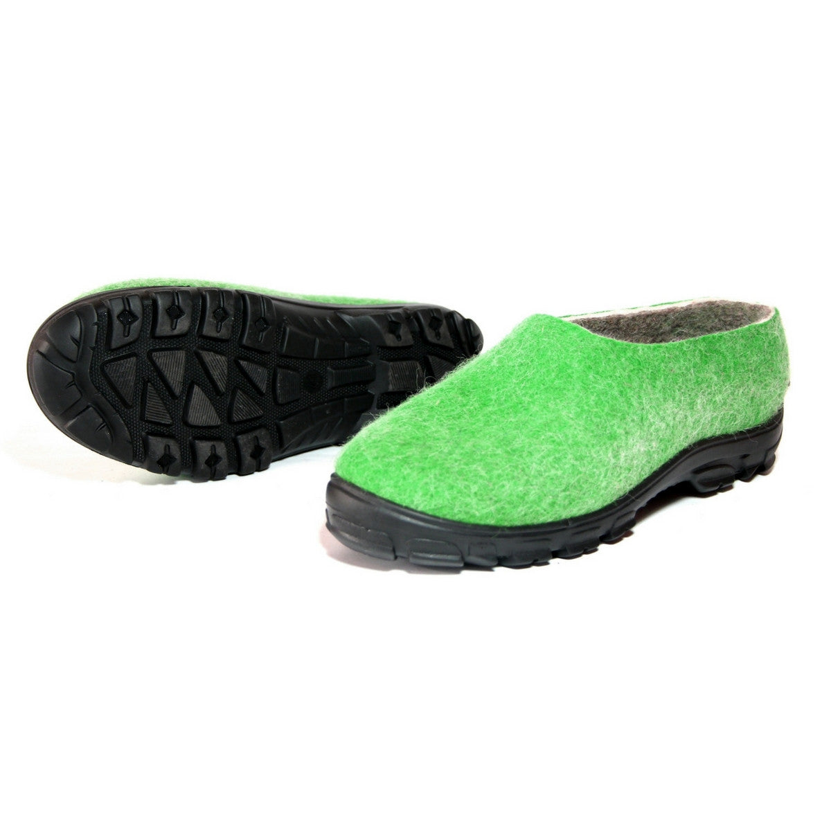 Men's Wool Sneakers Green Grey