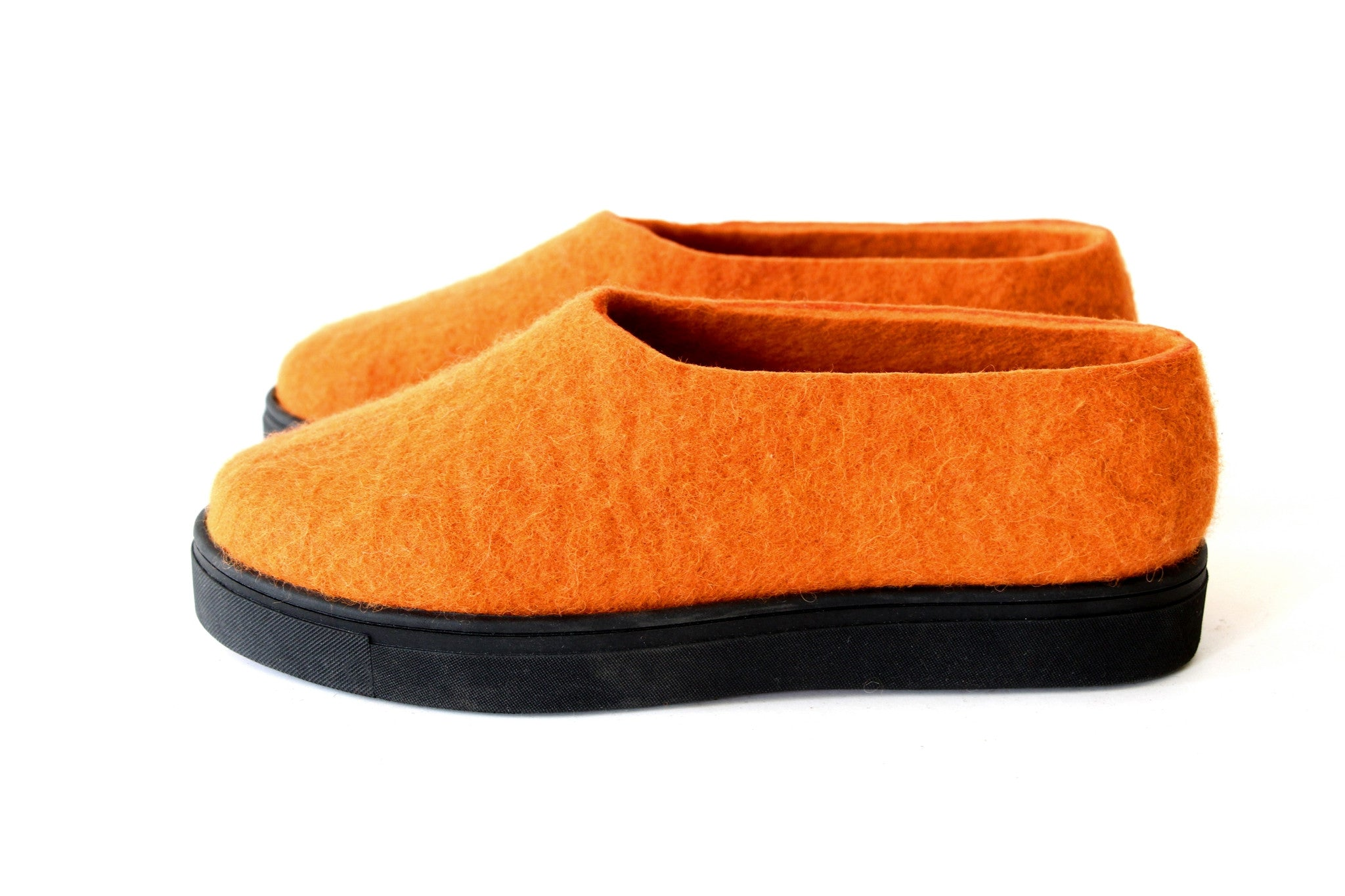 Women's Travel Friendly Wool Shoes Orange...