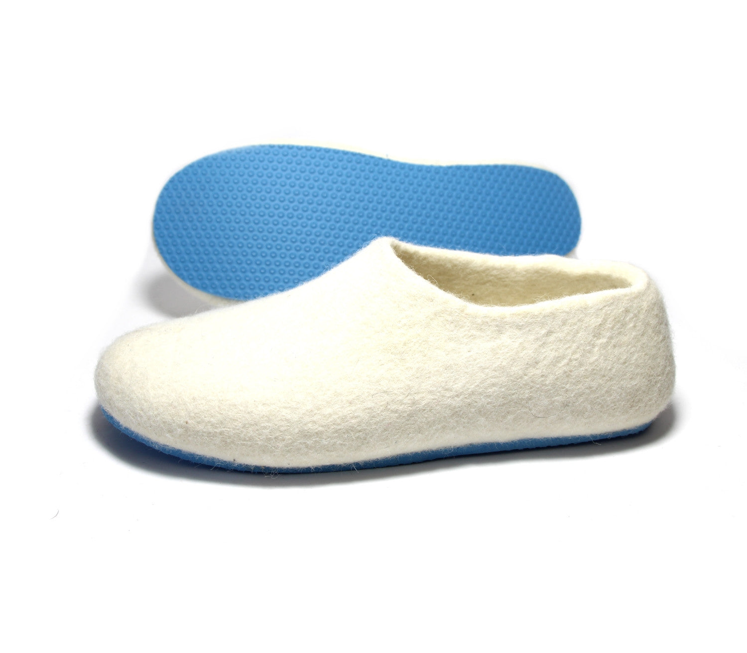 Womens Wool Shoes White Blue Air