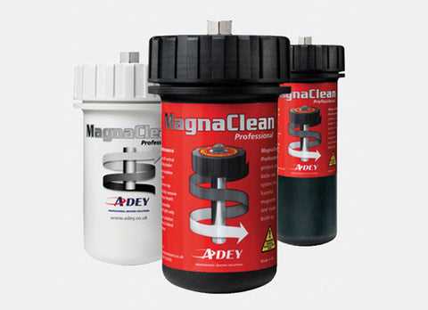 Fitted MagnaClean Magnetic Filters