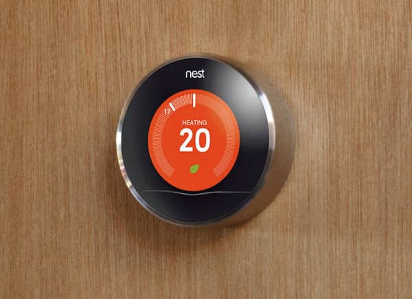 Fitted Nest Learning Heating Controller