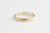 Handmade 3 MM Solid Gold Band in 14K Yellow Gold