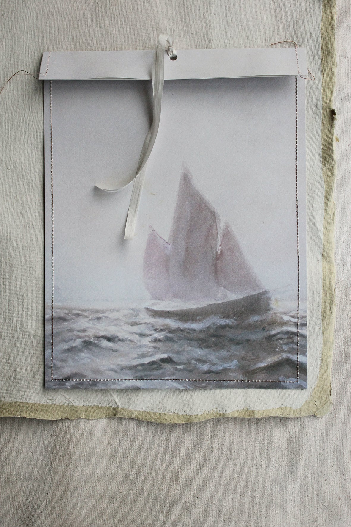 Linen Garden gift/storage bags - Catching the Waves
