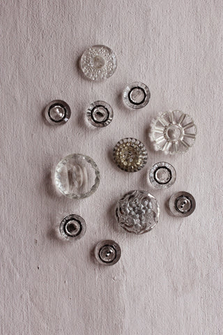 Antique buttons - one