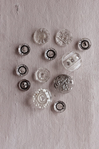 Antique buttons - two