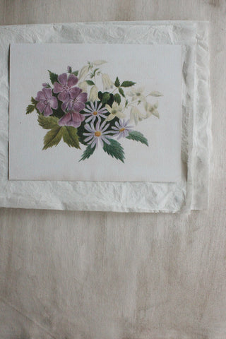'STILL LIFE' CARD - THE FLORAL PAGE