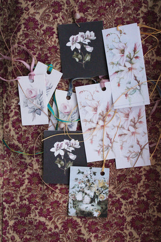 FLORAL GIFT TAGS