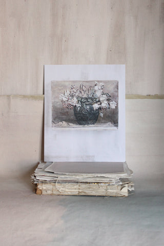 'STILL LIFE' CARD - THE OLD ROSE BOWL