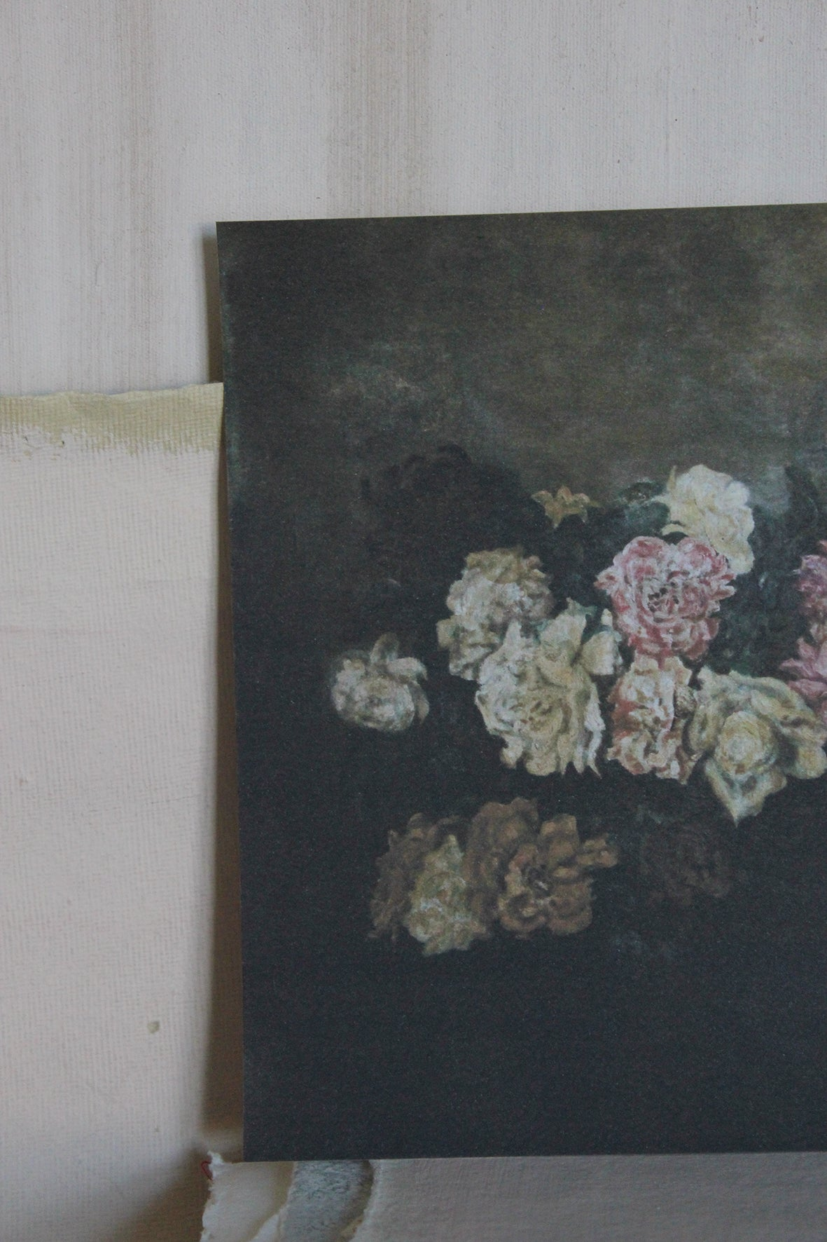 'STILL LIFE' CARD - THE OLD ROSE CANVAS