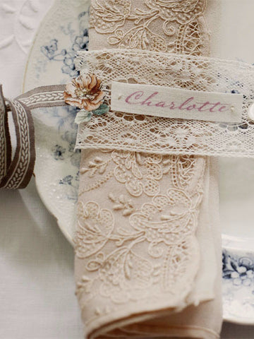 Linen Stationery ~ Place Names
