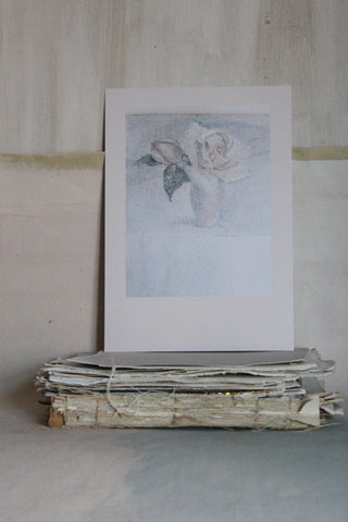 'STILL LIFE' CARD - THE ROSE