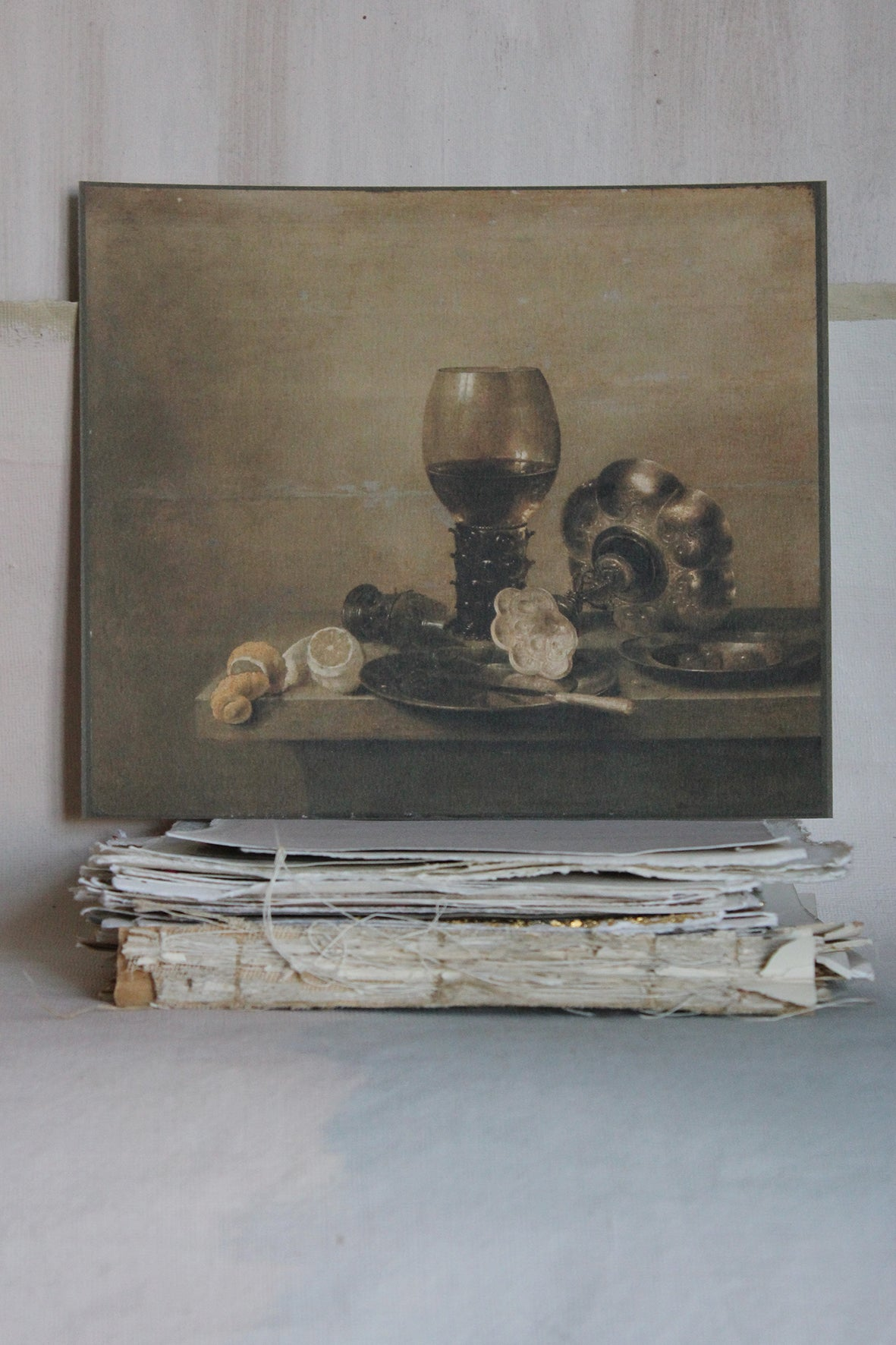 'STILL LIFE' CARD - WARM PEWTER