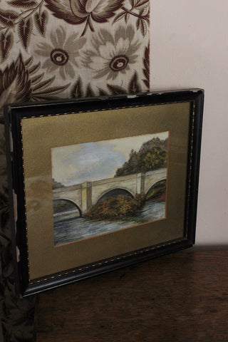Small framed vintage prints