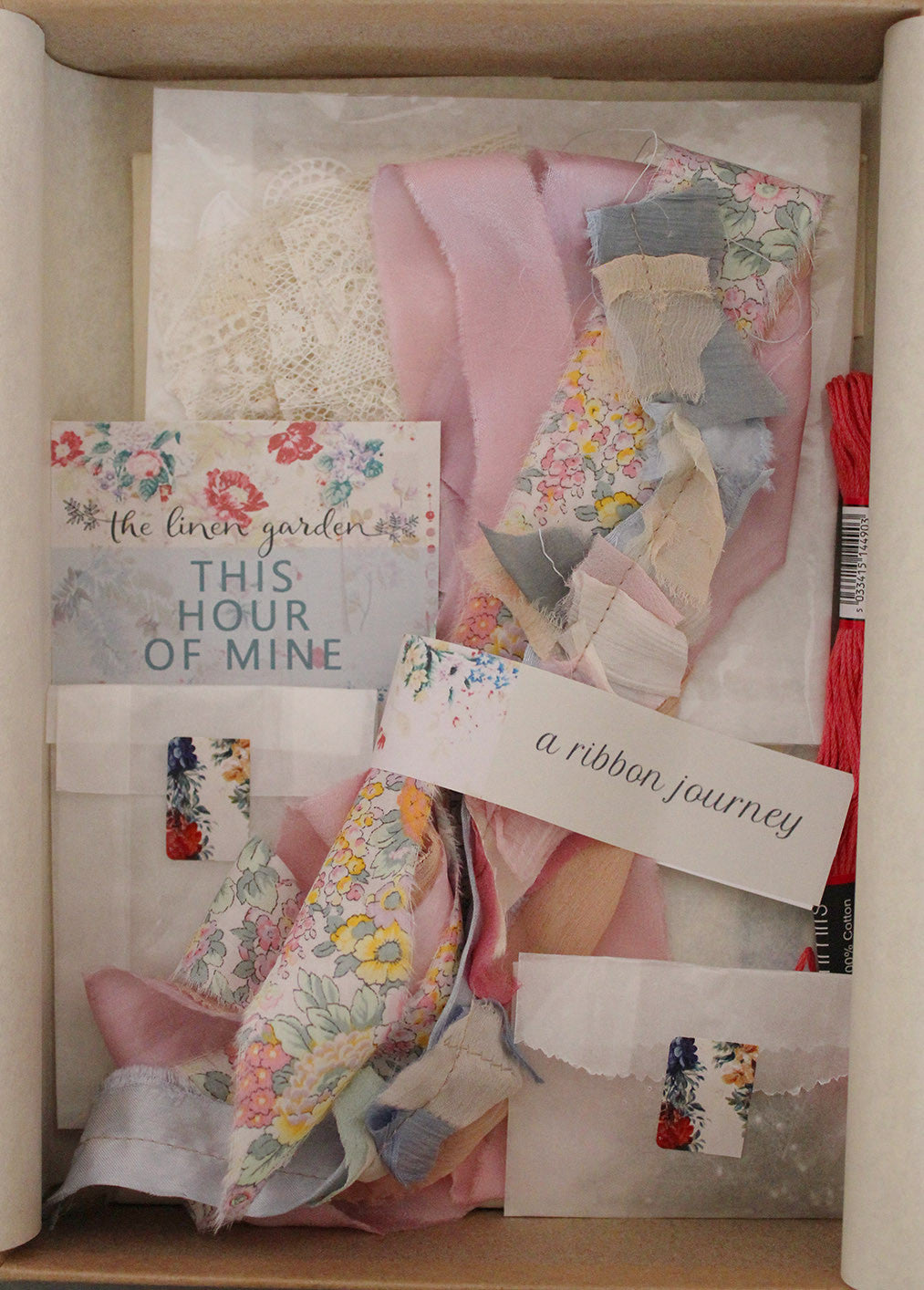 'THIS HOUR OF MINE' PROJECT BOX - A RIBBON JOURNEY - PROJECT ONE