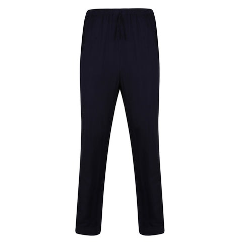 Bamboo Lounge Trousers Blue - Natural Clothes Bamboo Clothing Company