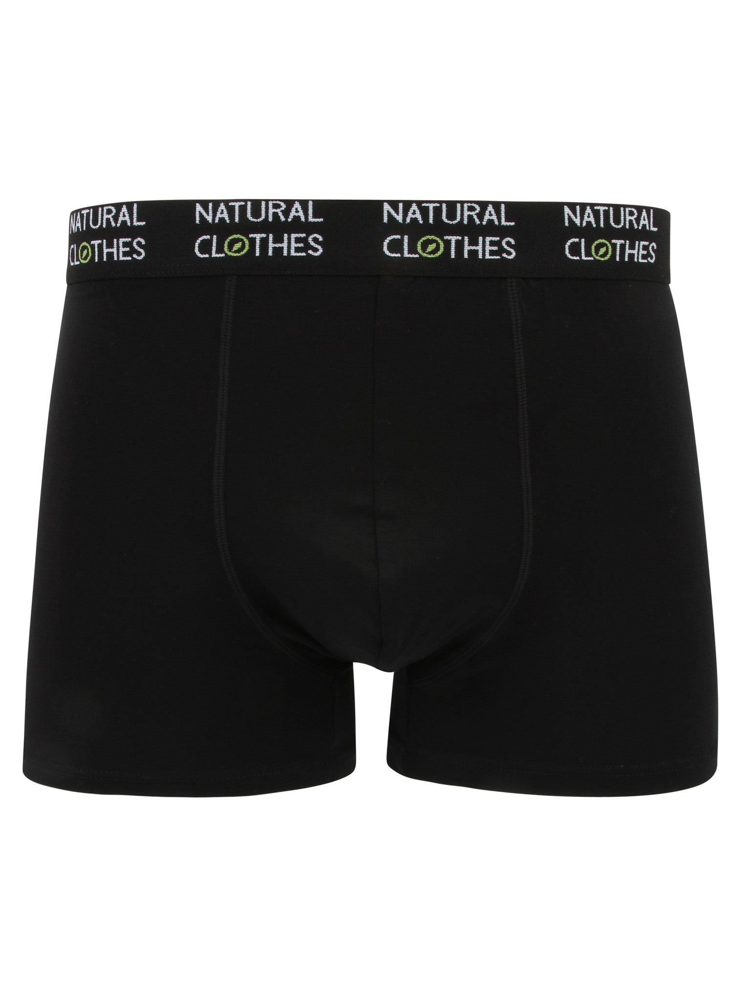 Bamboo Boxer Trunks Black - Natural Clothes Bamboo Clothing & Accessories for Men & Women