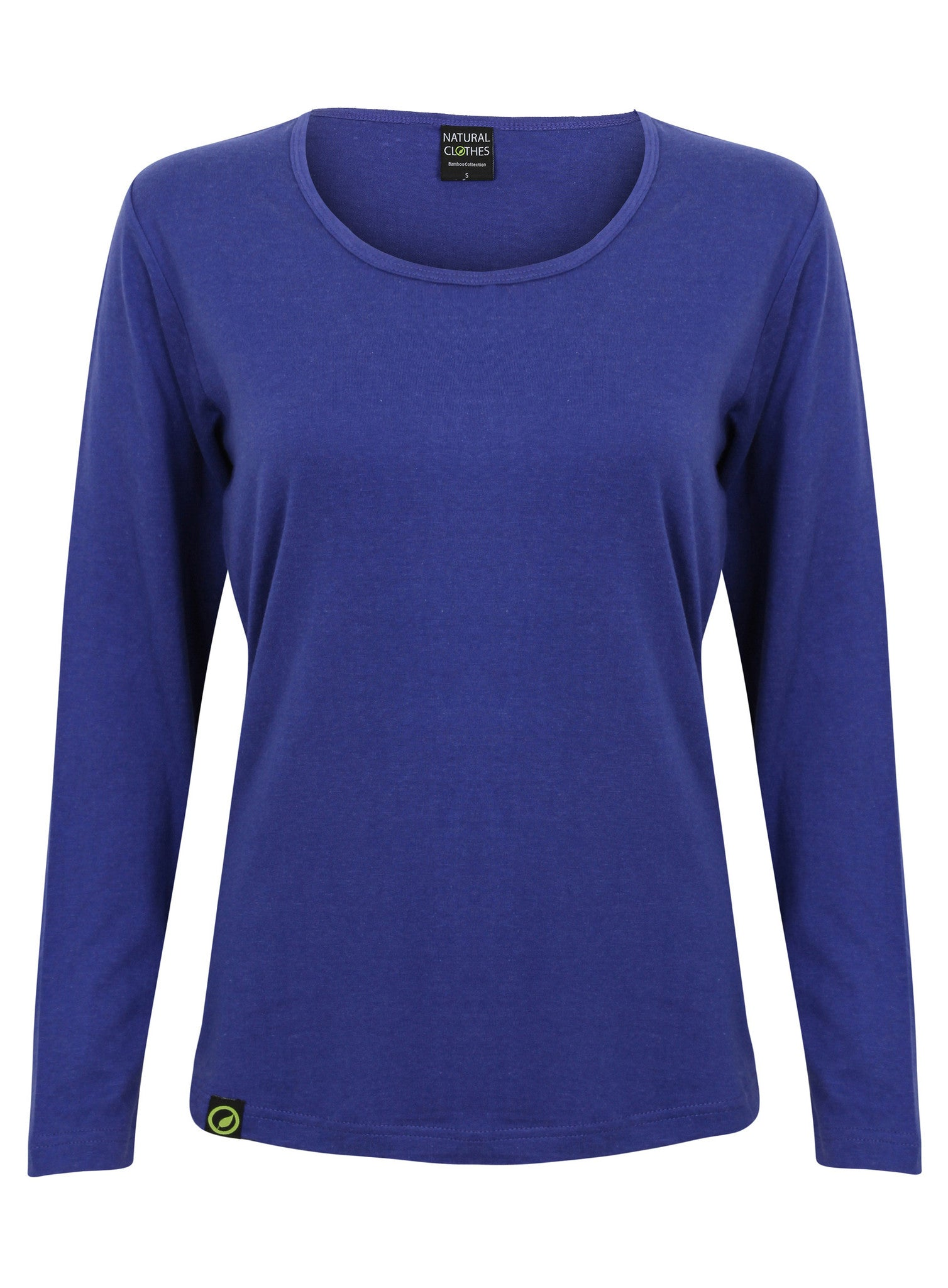 Bamboo Long Sleeve Top Blue - Natural Clothes Bamboo Clothing & Accessories for Men & Women