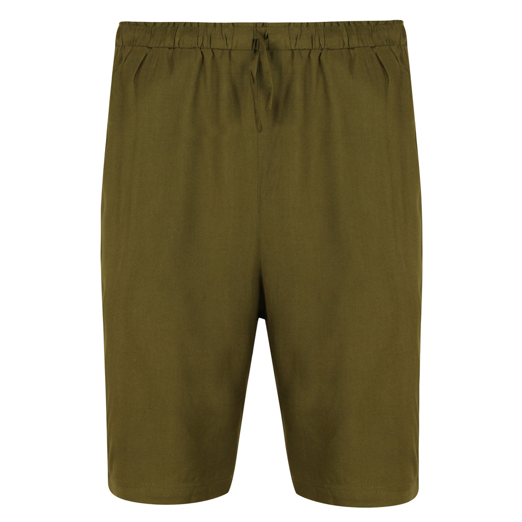 Bamboo Lounge Shorts (Green) - Natural Clothes Bamboo Premium Clothing Company