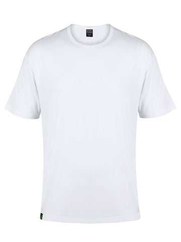 Bamboo T-Shirt Crew Neck (White)
