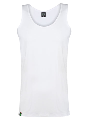 Bamboo Tank-Top 190gsm (White)