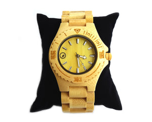 Bamboo Quartz Watch - Natural Clothes Bamboo Clothing & Accessories for Men & Women