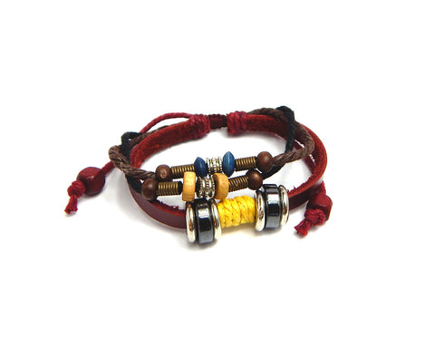 Ethnic Bracelet Silver Ring - Natural Clothes Bamboo Clothing & Accessories for Men & Women