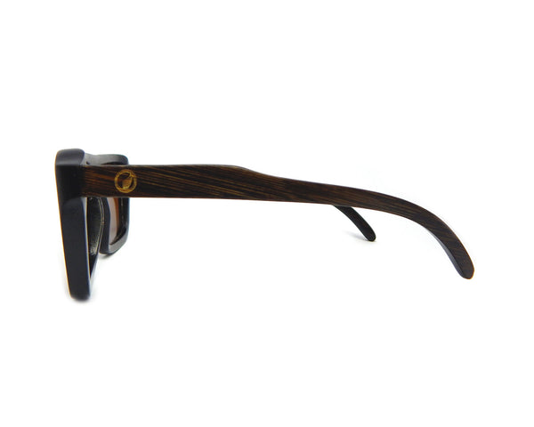 Bamboo Sunglasses Flat Top BSFT-02 - Natural Clothes Bamboo Clothing & Accessories for Men & Women