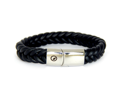 Men's Nappa Leather Bracelet LT-02 - Natural Clothes Bamboo Clothing & Accessories for Men & Women
