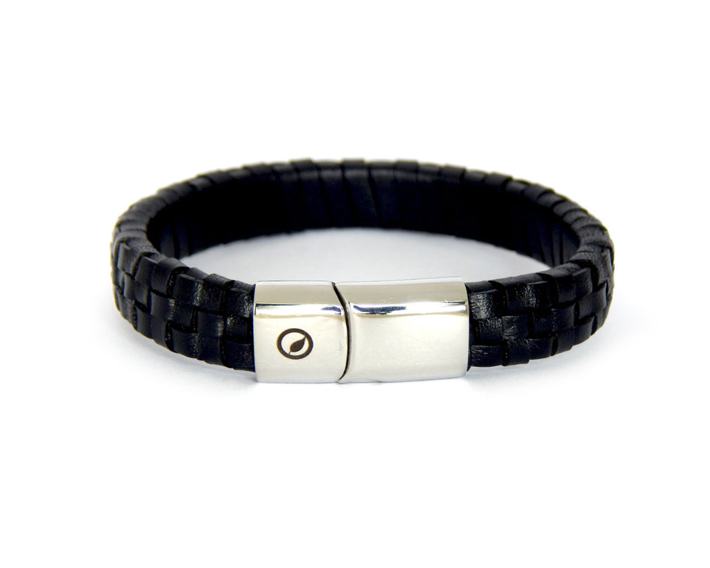 Men's Nappa Leather Bracelet LT-01 - Natural Clothes Bamboo Premium Clothing Company