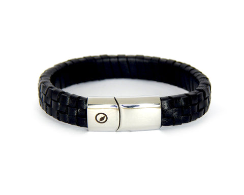 Men's Nappa Leather Bracelet LT-01 - Natural Clothes Bamboo Clothing & Accessories for Men & Women