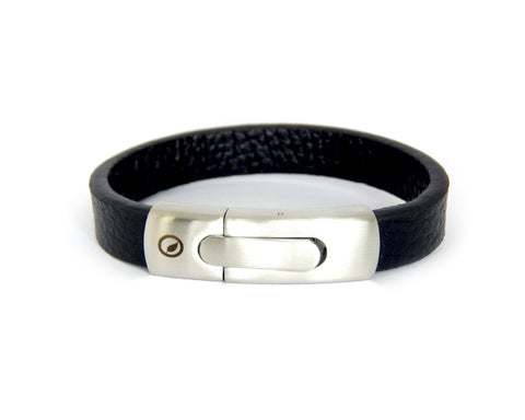 Men's Nappa Leather Bracelet LT-03 - Natural Clothes Bamboo Clothing & Accessories for Men & Women