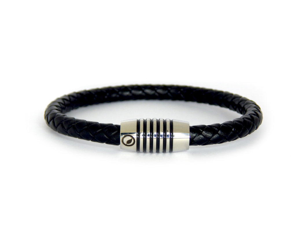 Men's Nappa Leather Bracelet LT-09 - Natural Clothes Bamboo Premium Clothing Company