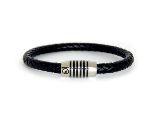 Men's Nappa Leather Bracelet LT-09 - Natural Clothes Bamboo Clothing & Accessories for Men & Women