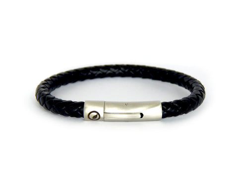 Men's Nappa Leather Bracelet LT-04 - Natural Clothes Bamboo Clothing & Accessories for Men & Women