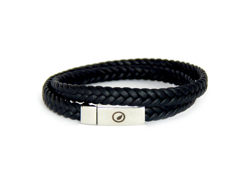 Men's Nappa Leather Bracelet LT-06 - Natural Clothes Bamboo Clothing & Accessories for Men & Women