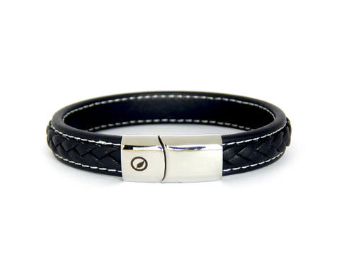 Men's Nappa Leather Bracelet LT-05 - Natural Clothes Bamboo Clothing & Accessories for Men & Women
