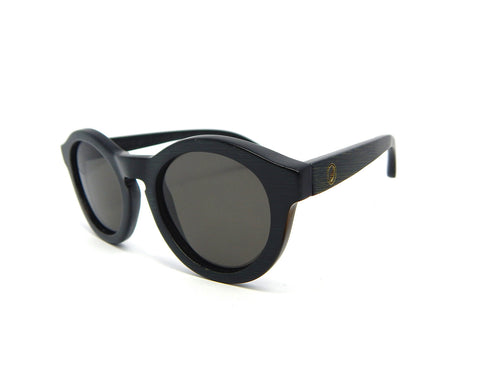 Bamboo Sunglasses Round BSE-01 - Natural Clothes Bamboo Clothing & Accessories for Men & Women