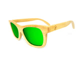 Bamboo Sunglasses BSN01 - Natural Clothes Bamboo Premium Clothing Company