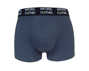 Boys' Bamboo Boxer Trunks Grey - Natural Clothes Bamboo Clothing & Accessories for Men & Women