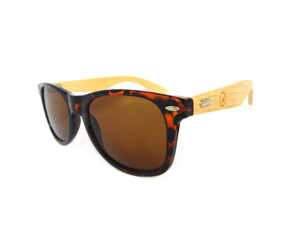 Bamboo Sunglasses BSW07 - Natural Clothes Bamboo Premium Clothing Company