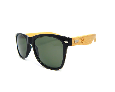 Bamboo Sunglasses Black Tint BSW01 - Natural Clothes Bamboo Clothing & Accessories for Men & Women