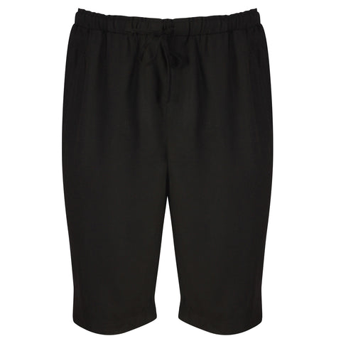 Bamboo Shorts Black - Natural Clothes Bamboo Clothing & Accessories for Men & Women