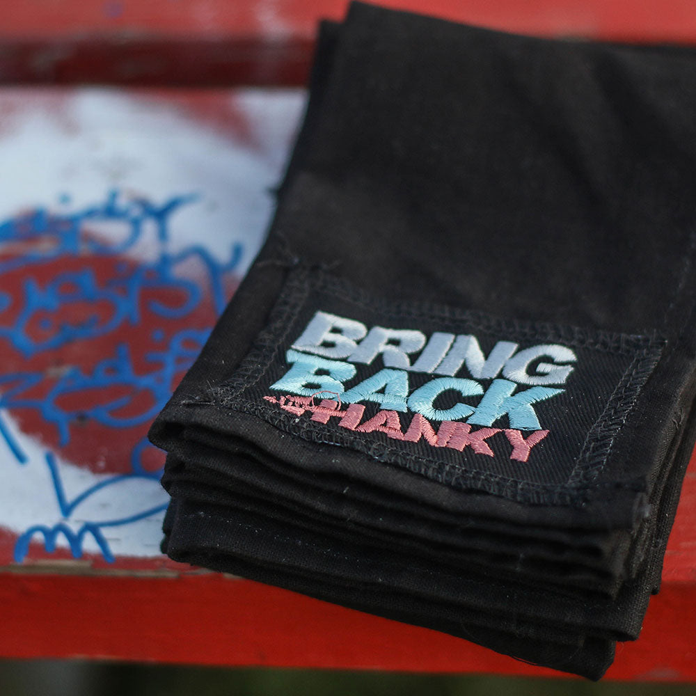 #BringBackTheHanky DIY Patch