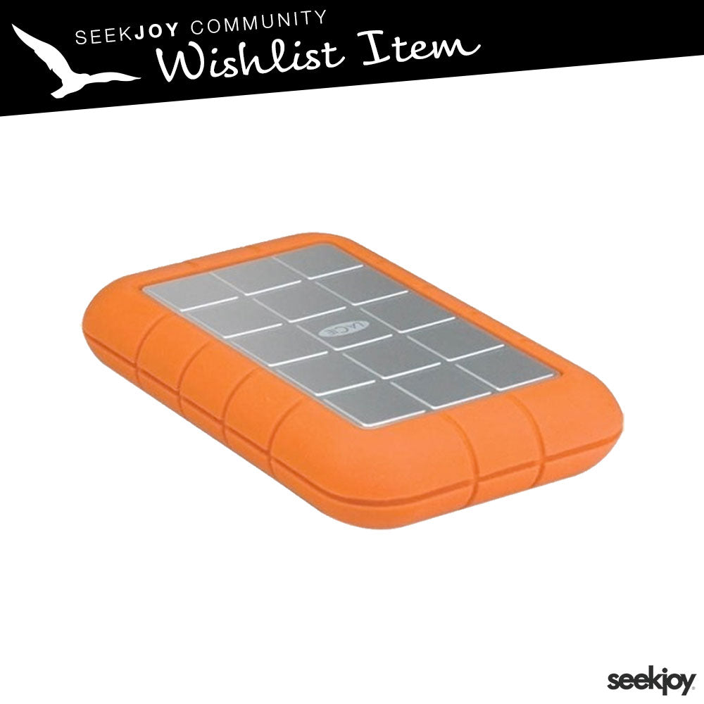 LaCie Rugged 2tb External Hard Drive