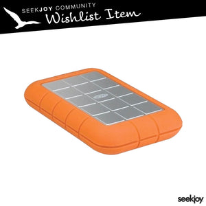 LaCie Rugged 1tb External Hard Drive