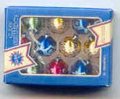 Artisan Miniatures Christmas Balls Box