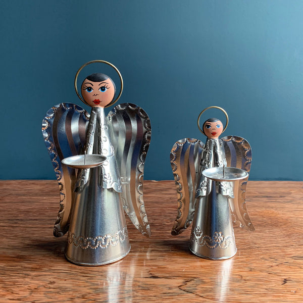 Mexican Angel Candle Holders