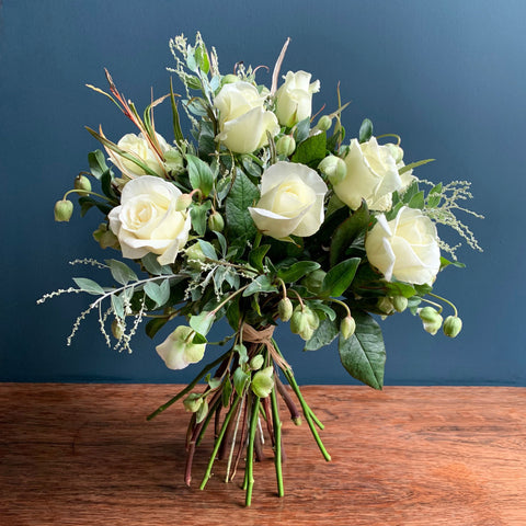 Everest White Hand Tied Bouquet | Highgate Flowers